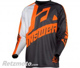 ANSWER Maillot ANSWER Syncron Voyd Junior Charcoal/Gray/Orange taille YS