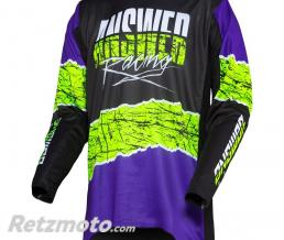 ANSWER Maillot ANSWER Trinity Pro Glow Purple/Hyper Acid/Black taille M