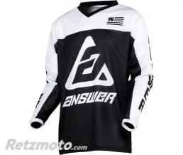 ANSWER Maillot ANSWER Arkon OPS Black/White taille M