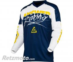 ANSWER Maillot ANSWER Syncron Pro Glow Junior Yellow/Midnight/White taille YXS