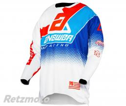 ANSWER Maillot ANSWER Elite Korza White/Red/Hyper Blue/Reflex taille M