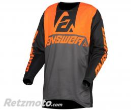 ANSWER Maillot ANSWER Trinity Voyd Charcoal/Hyper Orange/Black taille L