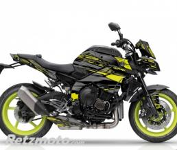 KUTVEK KIT DÉCO MOTO NIGHT YAMAHA MT 10 NOIR JAUNE