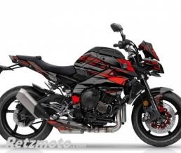 KUTVEK KIT DÉCO MOTO NIGHT YAMAHA MT 10 NOIR ROUGE