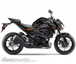 KUTVEK KIT DÉCO MOTO AIRLINE KAWASAKI Z 800 NOIR ORANGE