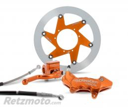 BERINGER Kit freinage Top Race roue 16/16.5 étrier Aerotec axial 6 pistons orange KTM