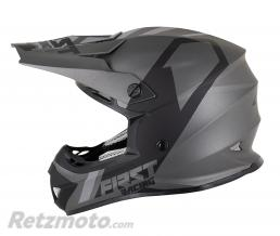 FIRST RACING CASQUE CROSS ADULTE FIRST RACING K2 GRIS-ANTHRACITE-NOIR M
