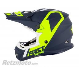 FIRST RACING CASQUE CROSS ADULTE FIRST RACING K2 BLEU-BLANC-FLUO S