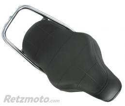 RETZMOTO SELLE CYCLO ADAPTABLE 103 MARQUAGE PEUGEOT TYPE CHOPPER NOIR