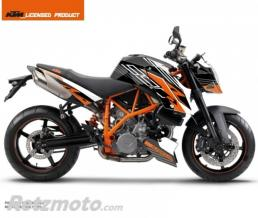 KUTVEK KIT DECO MOTO PERFORM KTM SUPER DUKE 990 NOIR BLANC