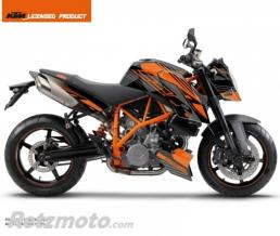KUTVEK KIT DECO MOTO PERFORM KTM SUPER DUKE 990 NOIR ORANGE