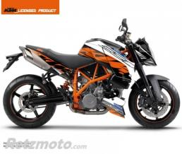 KUTVEK KIT DECO MOTO SPRING KTM SUPER DUKE 990 NOIR ORANGE