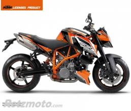 KUTVEK KIT DECO MOTO CRUX KTM SUPER DUKE 990 ORANGE