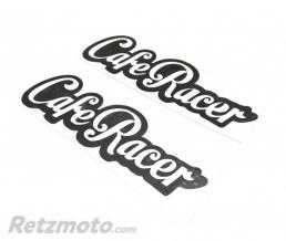BRAZOLINE Stickers réservoir CAFE RACER Lettrage NOIR