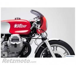 BRAZOLINE Stickers réservoir CAFE RACER Lettrage Blanc
