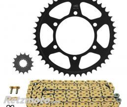 AFAM Kit chaîne Yamaha Tenere 700 AFAM 525 type XSR2 16/46 (couronne Standard)
