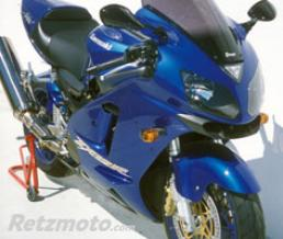 ERMAX BULLE HAUTE PROTECTION 48 CM ERMAX POUR ZX 12 R 2002/2007 (+ KIT VIS) marron transparent CLAIR