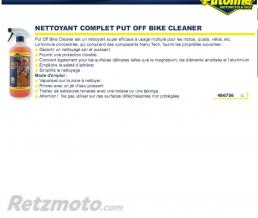 PUTOLINE Nettoyant complet put Off bike cleaner (spray) 1L PUTOLINE