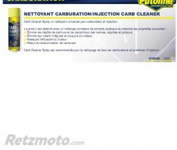 PUTOLINE Nettoyant carbu/injection (aerosol) 500ML PUTOLINE