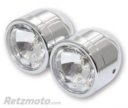 BRAZOLINE Double phare - CHROME
