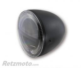 HIGHSIDER 5 3/4 pouces LED Phare CIRCLE, noir HIGHSIDER