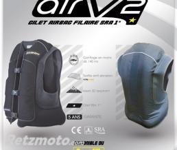ALL-SHOT Gilet airbag ALLSHOT AIRV2 NOIR