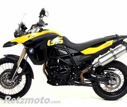 GIANNELLI Silencieux Alu BMW F 650 GS 2008/2010 Slip-on F800GS 2008/2010 Homologué E13 CAP9/5