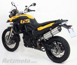 GIANNELLI Silencieux Titane BMW F 650 GS 2008/2010 Slip-on Embout Carbone F 800 GS 2008/2010 E13