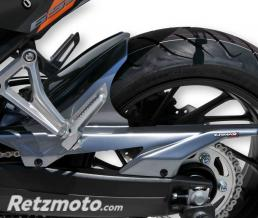 ERMAX garde boue arriere Ermax pour CB 650 F 2017-2018, gris anthracite 2017/2018(sword silver metallic [NHA95])