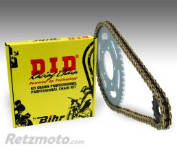 DID Kit chaîne D.I.D 520 type DZ2 13/49 (couronne ultra-light anti-boue) Honda