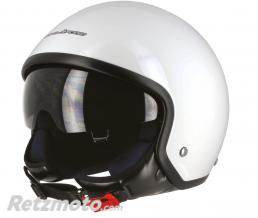 S-LINE Casque jet S701 Blanc Brillant XL