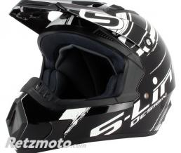 S-LINE Casque cross S813N Noir Blanc XL