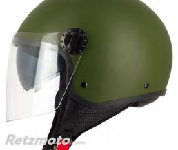 S-LINE DemiCasque jet S706 Green Army XS