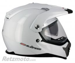 S-LINE Casque enduro Air Pump S610 Blanc XS