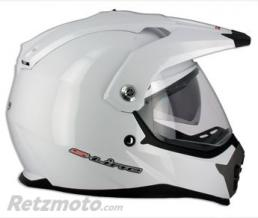 S-LINE Casque enduro Air Pump S610 Blanc XL