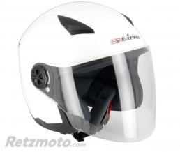 S-LINE Casque jet S200 Blanc Brillant XL