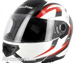 S-LINE Casque modulable S520 Blanc Rouge XS