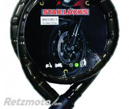 STAR LOCK Antivol Câble Articulé Ø22mm x 1M50
