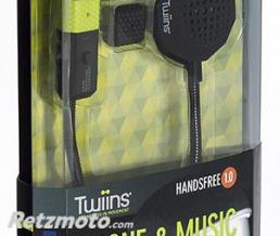 TWIINS  Kit Mains Libres Casque Handsfree 1.0 Mono