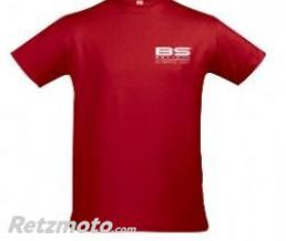 BS BATTERIE T-shirt BS rouge Taille XL