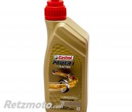 CASTROL HUILE MOTEUR 2 TEMPS CASTROL POWER 1 RACING 2T (1 L) 100% SYNTHETIQUE