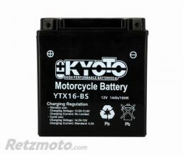 KYOTO Batterie Ytx16-bs - Ss Entr. AGM