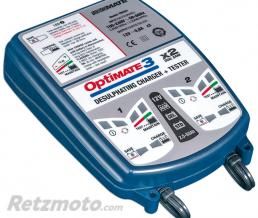TECMATE OPTIMATE 3 x2 CHARGEUR-TEST. TM-450