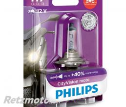 PHILIPS Lampe Philips - H7 - City Moto Vision-12 V - 55 W - PX26d (12972CMVB1)