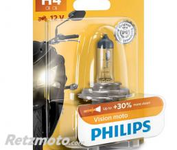 PHILIPS Lampe Philips - H4 - Vision Moto-12 V - 60/55 W - P43t-38 (12342PRBW)