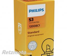 PHILIPS Lampe Philips - S3 - Standard-12 V - 15 W - P26s (12008C1)