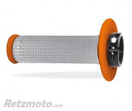 PROGRIP Poignées Progrip 708 Lock on-Ø 22/25 mm. Orange/Gris