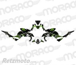UP Kit Deco UP MAXIMIZE KAWASAKI Z 650 2017 noir-vert