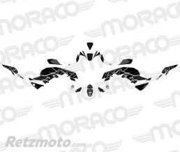 UP Kit Deco UP MAXIMIZE KAWASAKI Z 650 2017 noir-blan