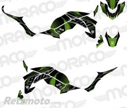 UP Kit Deco UP MAXIMIZE KAWASAKI Z 900 2017 noir-vert